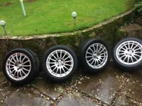 Mazda mx5 alloy wheels set of 4 good condition