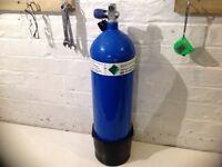 12 litre steel 232 bar diving cylinder