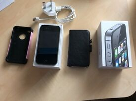 Apple Iphone 4s Unlocked open to any network 8Gb VGC