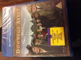 Downtown Abbey Blu-Ray Journey to the Highlands, still in sealed package. Can post