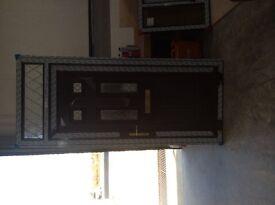 BRAND NEW ROSEWOOD UPVC DOOR