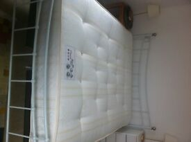 orthopedic kings size firm mattress, couple of months, in extremely good condition barely used