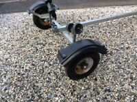 SMALL BOAT KAYAK OR DINGHY GALVANISED TRAILER