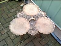Oriental Carved Wood Table