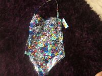 MARKS AND SPENCER BRAND NEW WITH TAGS LADIES SWIMMING COSTUME SIZE 16