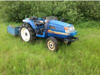 Iseki 220 landhope compact tractor