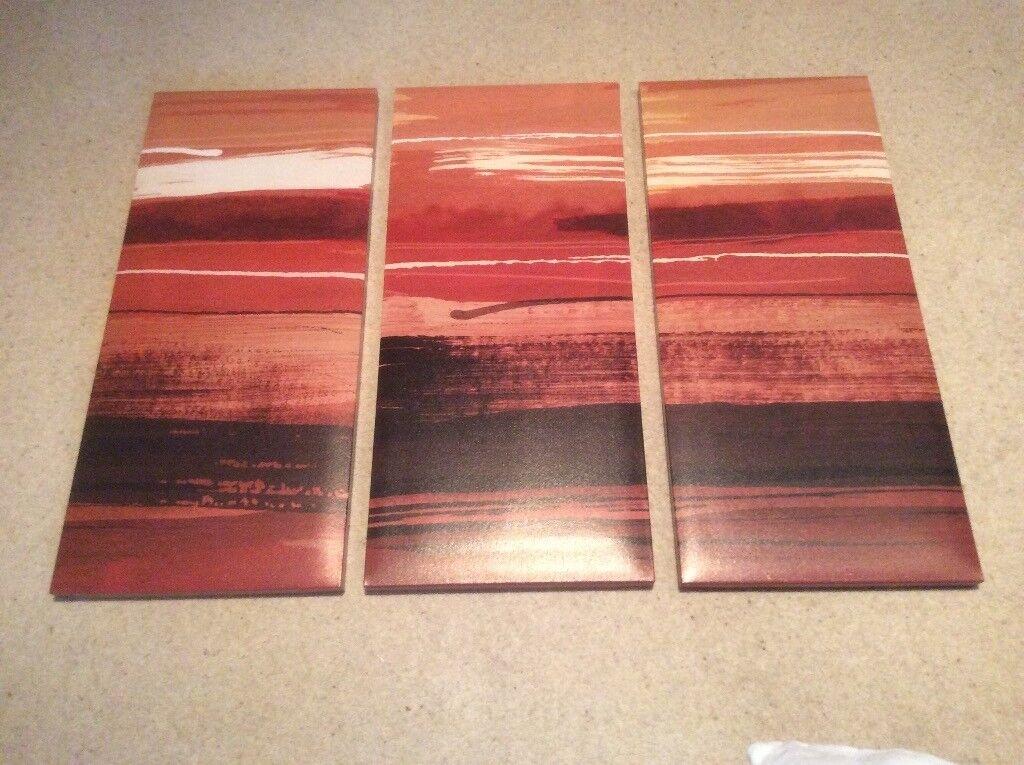 3piece art print on canvas