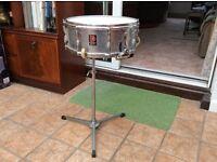 Premier chrome 2000 snare drum 60's model