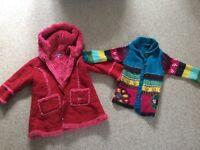 Designer age3 coat and cardigan/jacket