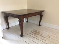 Beautiful mahogany dining table/desk, £195 or nearest offer