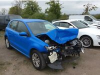Vw polo 2015 only 5000 miles has medium front damage 2 keys tax book and service book