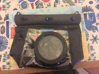 Slr camera waterproof case. Diving.