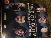 Line of duty series 1-3 excellent condition