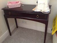 Hard wood dressing table by Stag