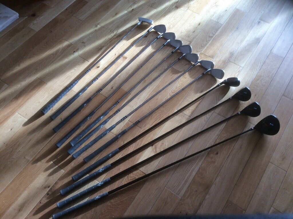 Williams 12 golf club set with bag and trolley