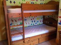 John Lewis Pine Bunk Beds