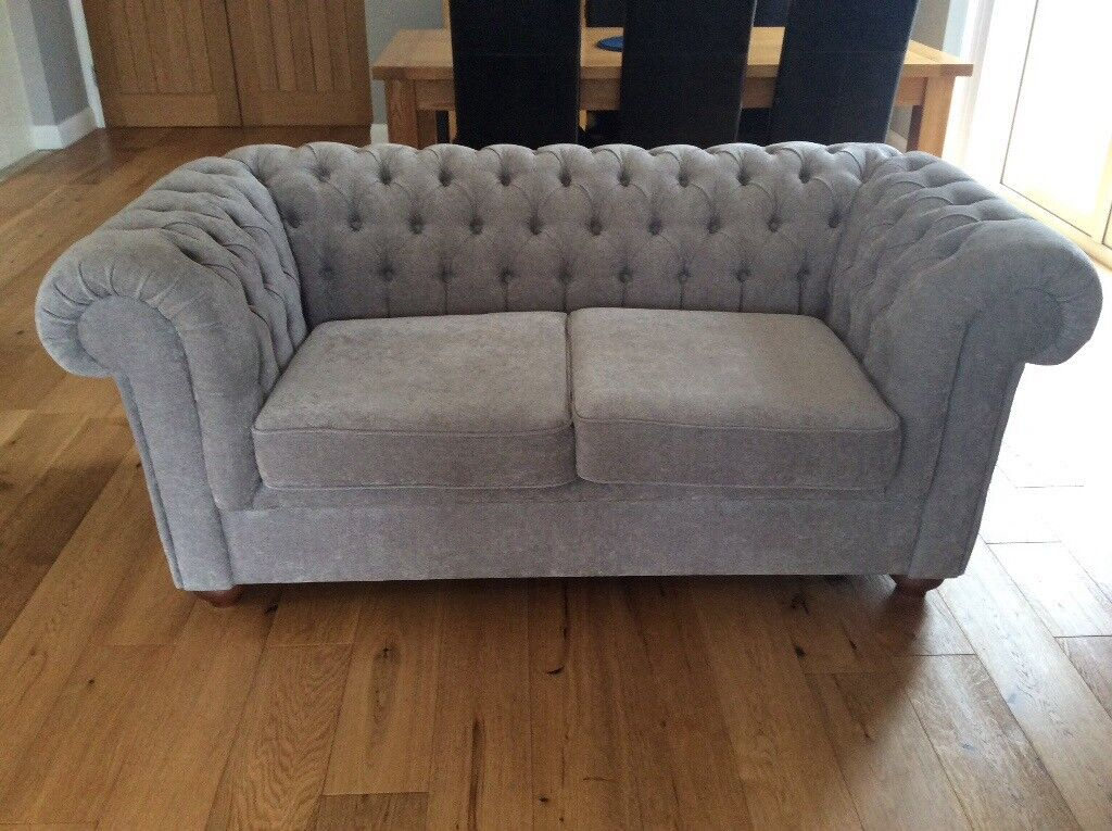 Debenhams 2 Seater Chenille Chesterfield Sofa As New Hardly Ued Curly Ing For 950 In Comber County Down Gumtree