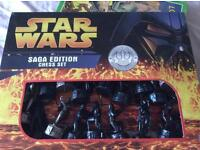 Star wars chess set from non smoking home
