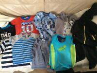 Baby Boy Clothes 6-9months - approx 11 items
