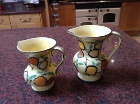 Pair of pretty jugs