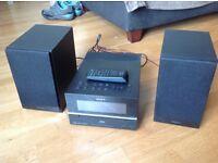 Sony hifi/DAB radio/cd player/early generation iPod dock