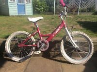 "Girls bike. 16"" wheel. Dawes Lottie. Excellent condition."