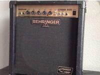 Behringer 30 watt bass practice amp