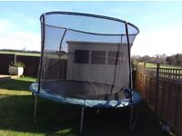 Trampoline 10ft. Kids outdoor, garden toy