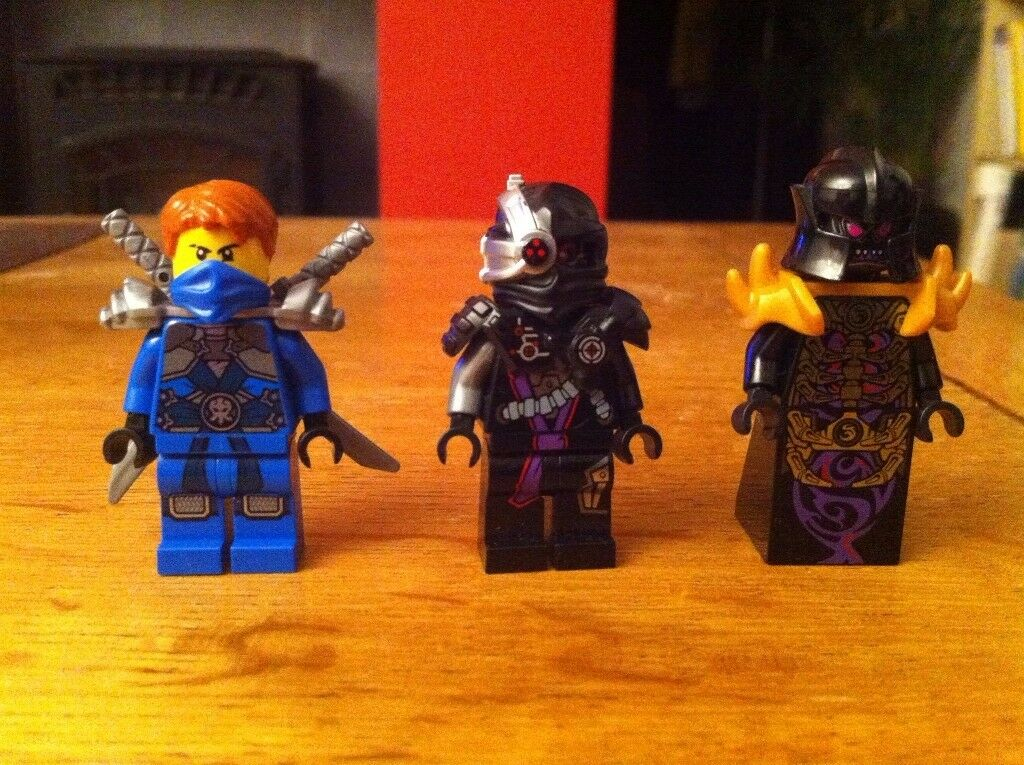 Rare Lego ninjago figures