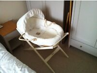 Moses Basket from Mamas & Papas with stand