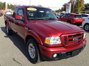 2011 Ford Ranger 4WD Sport - Ext Warranty! ONLY $191 BIWEEKLY 0