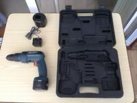 Black & Decker 8.4V Cordless Drill/Screwdriver with Battery, Case + Charger