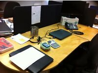 Job lot Office desks and Desk Partitions/Dividers - Bargain