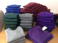 Bulk buy school jumpers and cardigans all new with tags