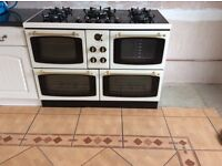 Gas cooker electric ovens