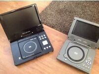 2 of portable DVD players