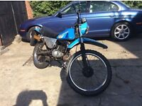 1982 trials style moped great little bikes needs bit of cosmetic work mot 3/18