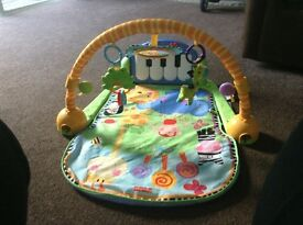 Fisher price baby piano kick mat