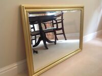 GOLD Antique effect MIRROR by Laura Ashley