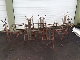 Rennie MacKintosh dining table and chairs project