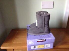 Kirkland shearling boots