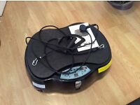 Vibration plate with remote control