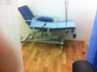 Electric Message Couch for a beauty clinic. Good as new. Price £200.00