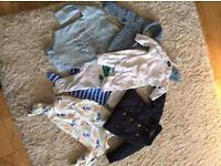BUNDLE BABY BOYS CLOTHES SIZE 0-6 months