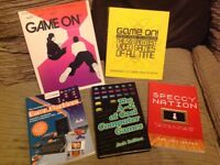 Bundle of various gaming/history retro books