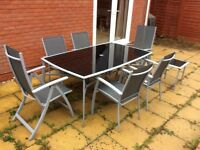 10 piece garden furniture set