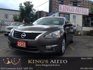 2013 Nissan Altima 2.5, TRACTION, CRUISE, BLUETOOTH, FOG LAMPS