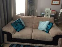 2 x 2seater sofas