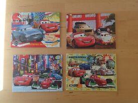 Disney Pixar Cars 2 Jigsaw Puzzles – Set of 4