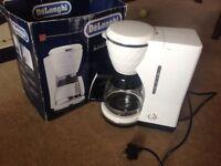 Delonghi Brillante 10 cup filter coffee machine